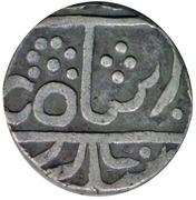 1 Rupee - Jayaji Rao (Gwalior) – avers