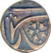 ¼ Rupee - Jiyaji Rao [Akbar II] – revers