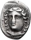 Hemidrachm (Gyrton) – avers