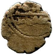 "Qandhari Dirham ""Damma"" - Muhammad bin Abdullah - 943-973 AD (under Abbasid Caliphate) – revers"