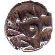 """Qandhari Dirham """" Damma"""" - Anonymous - 854-1011 AD - Habbari of Sid – avers"""