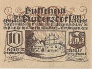 10 Heller (Hadersdorf am Kamp) -  avers