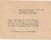 10 Heller (Hadersdorf am Kamp) -  revers