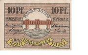 10 Pfennig (Hadersleben) – avers