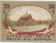 50 Pfennig (Hadersleben) – revers