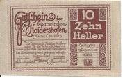 10 Heller (Haidershofen) -  revers