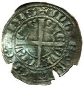 demi-gros au chevalier (Jean II d'Avesnes) – revers
