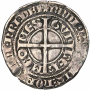 Gros Guillaume II – revers