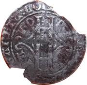 Plaque au lion (ou double gros ou gros vaillant) - Guillaume III de Baviére – avers