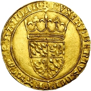 1 Couronne d''or - Albert of Bavaria – avers