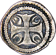 Maille - Jeanne de Constantinople – revers
