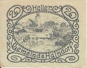 20 Heller (Haindorf a. d. Sirning) – revers
