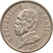 20 centimes (Président Nord Alexis) – avers