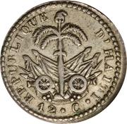 12 centimes (République) – revers