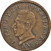 25 centimes (République) – avers