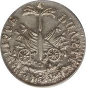 12 centimes - petite tête (République de l'Ouest) – revers