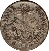 6 centimes (République de l'Ouest) – revers