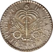 25 centimes (République) – revers