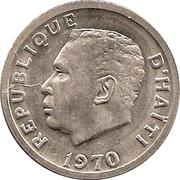 20 centimes (Président François Duvalier) – avers