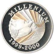 500  gourdes (Millénaire) – revers