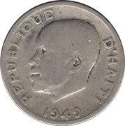 10 centimes (Président Estimé Dumarsais) -  avers