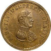 10 centimes - Faustin I (Essai) – avers