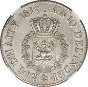 1 Crown - Henri I Christophe (Essai) – revers