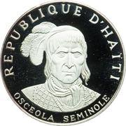 10 gourdes (Osceola Seminole) – avers