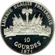 10 gourdes (Osceola Seminole) – revers
