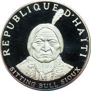 10 gourdes (Sitting Bull) – avers