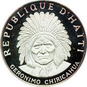 10 gourdes (Chiricahua Chief Geronimo) – avers