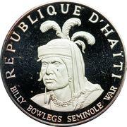 10 gourdes (Seminole Chief Billy Bowlegs) – avers