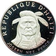 10 gourdes (Nez Perce Chief - Joseph) – avers