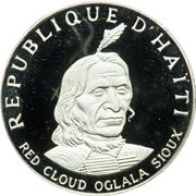 10 gourdes (Oglala Sioux Chief Red Cloud) – avers