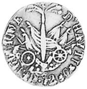 12 centimes - grande tête (République de l'Ouest) – revers
