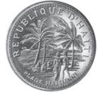 5 gourdes (Plage haïtienne) – avers
