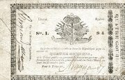 4 Gourdes (Government of South Haiti) – avers