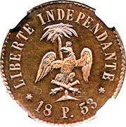 10 centimes - Faustin I (Essai) – revers
