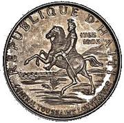 10 Gourdes (Toussaint L'Ouverture; Piedfort Essai) – avers