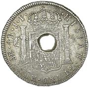 ½ dollar (Contremarque) – avers