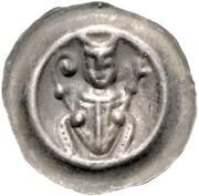 1 Brakteat - Ludolf I. von Schladen -  avers