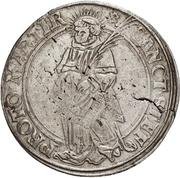 1 Thaler - Albrecht von Brandenburg – revers