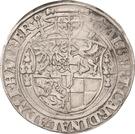 1 Thaler - Albrecht von Brandenburg – avers