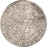 1 Thaler - Albrecht von Brandenburg -  avers