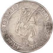 1 Thaler - Albrecht von Brandenburg -  revers