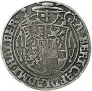 ½ Thaler - Albrecht von Brandenburg – avers