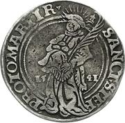 ½ Thaler - Albrecht von Brandenburg – revers