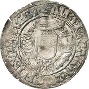 1 Groschen - Albrecht V. von Brandenburg (Breitgroschen) – avers