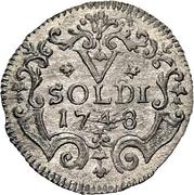 5 soldi - Thomas III – revers