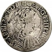 15 kreuzer - Georg Philip – avers